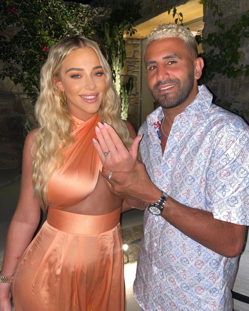 Riyad-Mahrez-engaged-Taylor-Ward