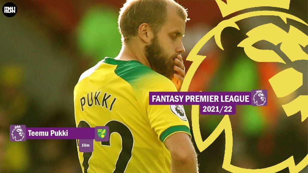 FPL-Teemu-Pukki-Norwich-City-Fantasy-Premier-League-2021-22