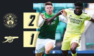Hibernian-vs-Arsenal