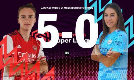 Arsenal-Women-vs-Manchester-City-Women-Match-Report-WSL-2021-22