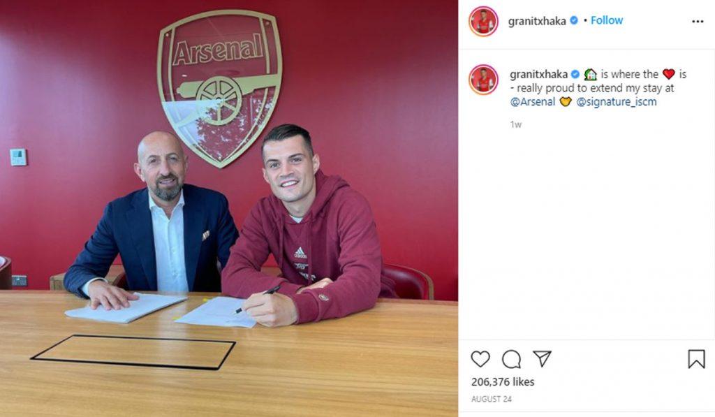 Granit-Xhaka-Arsenal-News-Contract