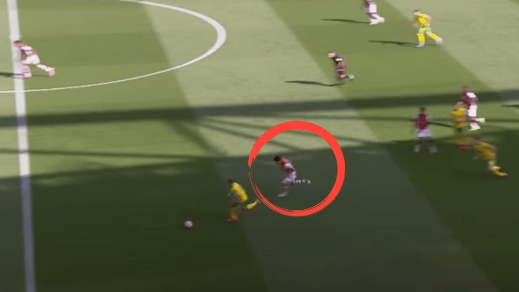 Takehiro-Tomiyasu-Recovery-Run-Arsenal-Analysis-vs-Norwich-City