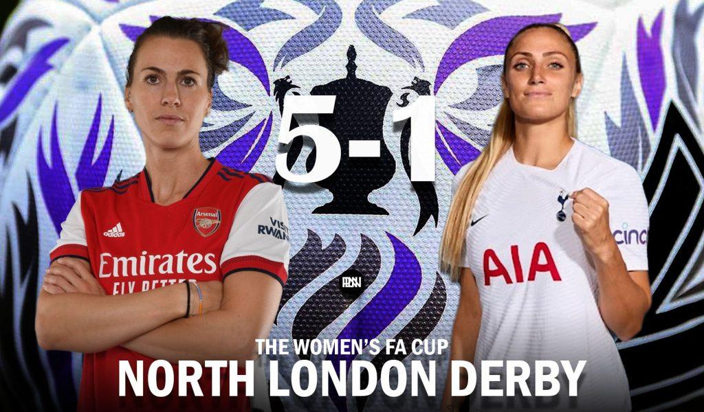 Arsenal-Women-vs-Spurs-Women-Match-Report